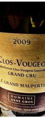 Unknown type, Clos Vougeot 2009