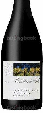 Red wine, Deer Farm Vineyard Pinot Noir 2019