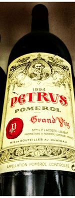 Red wine, Pétrus 1994