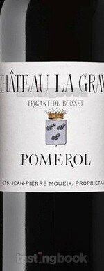 Red wine, Château La Grave à Pomerol 2017
