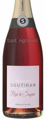 Sparkling wine, Brut Rosé de Saignée NV (10's)