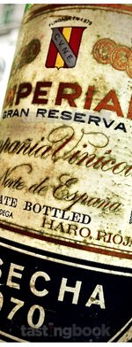 Red wine, Imperial Gran Reserva 1970