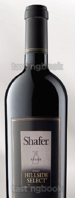 Red wine, Hillside Select Cabernet Sauvignon 2007