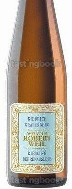 Sweet wine, Kiedrich Gräfenberg Riesling Beerenauslese 2018