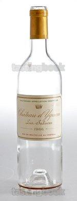 Sweet wine, d'Yquem 1966