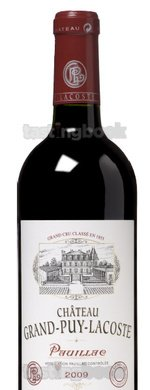 Red wine, Château Grand-Puy-Lacoste 2009