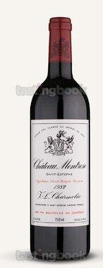 Red wine, Montrose 1982