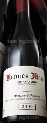 Red wine, Bonnes Mares Grand Cru 2009