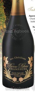Sparkling wine, Cuvée Spéciale Les Chétillons Le Mesnil 2004
