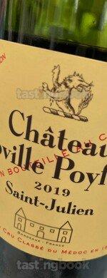 Red wine, Château Léoville Poyferré 2019