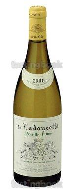 White wine, Pouilly-Fumé de Ladoucette 2010
