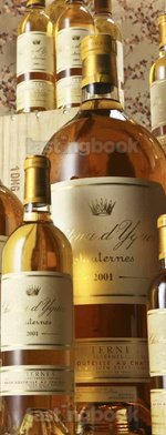 Sweet wine, d'Yquem 2001