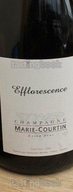 Sparkling wine, Efflorescence 2008