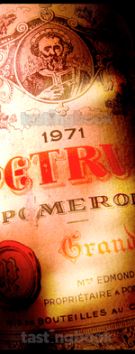 Red wine, Pétrus 1971