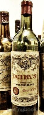 Red wine, Pétrus 1945
