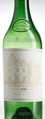 Red wine, Château Haut-Brion 1985