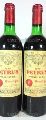 Red wine, Pétrus 1977