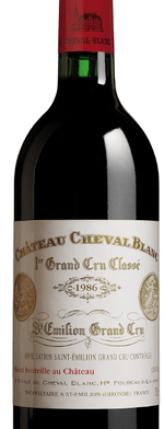 Red wine, Cheval Blanc 1986