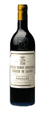 Red wine, Château Pichon Longueville Comtesse de Lalande 1986