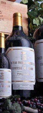 Red wine, Château Pichon Longueville Comtesse de Lalande 2004