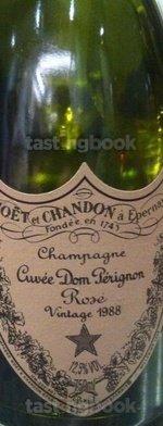 Sparkling wine, Dom Pérignon Rosé 1988