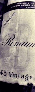Sparkling wine, Vintage Champagne 1945
