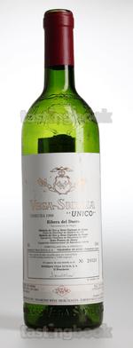 Red wine, Unico 1968