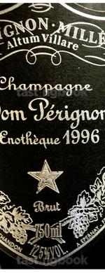 Sparkling wine, Dom Pérignon Oenothèque 1996