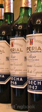 Red wine, Imperial Gran Reserva 1948