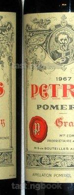 Red wine, Pétrus 1967