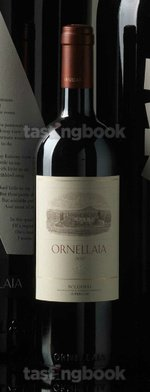 Red wine, Ornellaia 2011