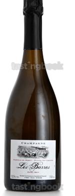 Sparkling wine, Les Barres  2006