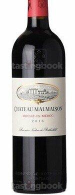 Red wine, Château Malmaison 2016