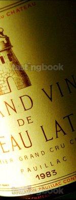Red wine, Château Latour 1983