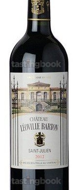 Red wine, Chateau Leoville-Barton 2012
