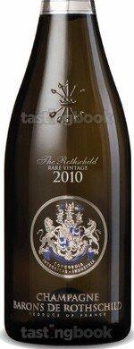 Sparkling wine, The Rothschild Rare Vintage 2010