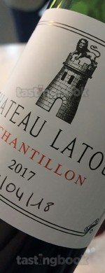 Red wine, Château Latour 2017