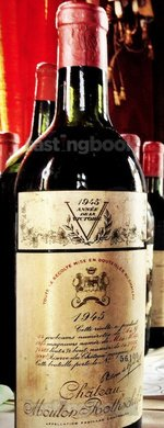 Red wine, Château Mouton-Rothschild 1945