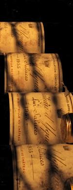 Sweet wine, d'Yquem 1955