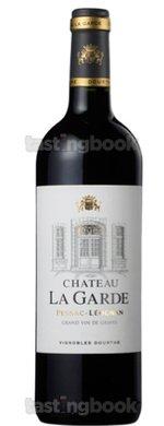 Red wine, Château La Garde 2011
