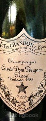 Sparkling wine, Dom Pérignon Rosé 1982