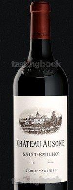 Red wine, Château Ausone 2018