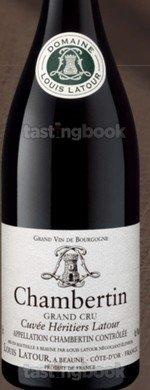 Red wine, Chambertin 2014
