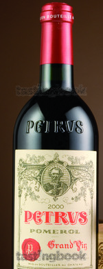 Red wine, Pétrus 2000
