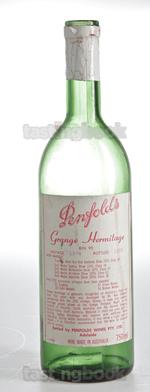 Red wine, Grange Hermitage 1974