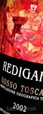 Red wine, Redigaffi 2002