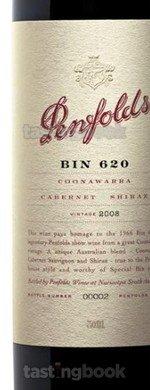 Red wine, Bin 620 2008