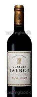 Red wine, Château Talbot 2015