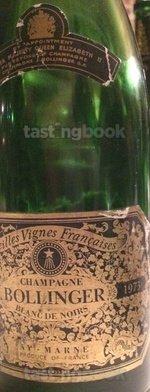 Sparkling wine, Vieilles Vignes Françaises 1973