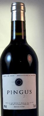 Red wine, Pingus 2001